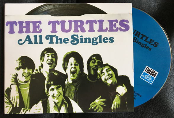 The Turtles All The Singles 2cd Nudisc